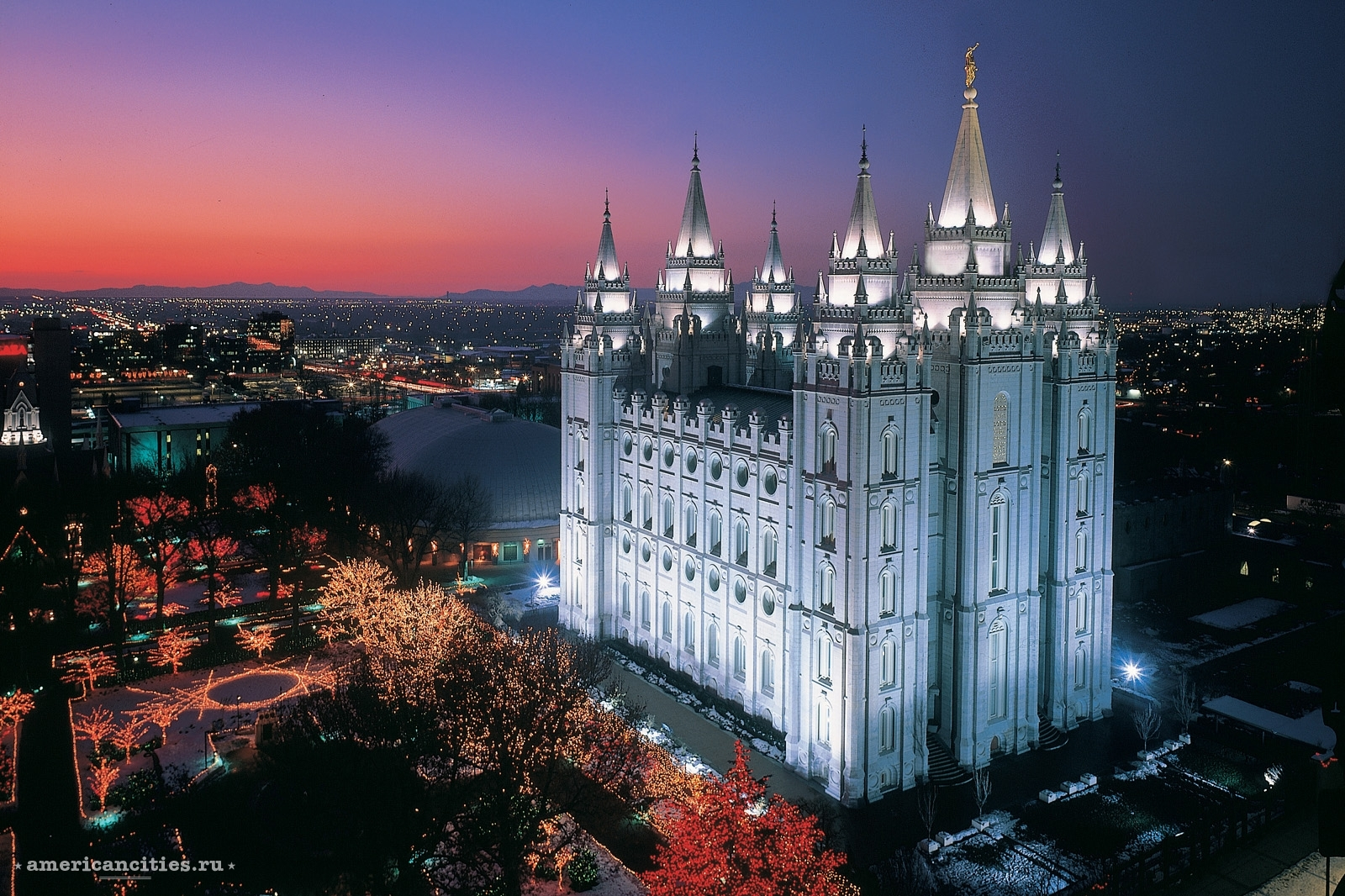 Храм Salt Lake Temple