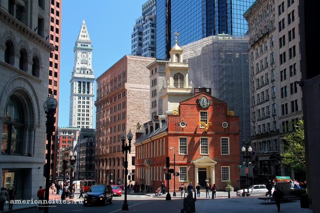 город бостон фото