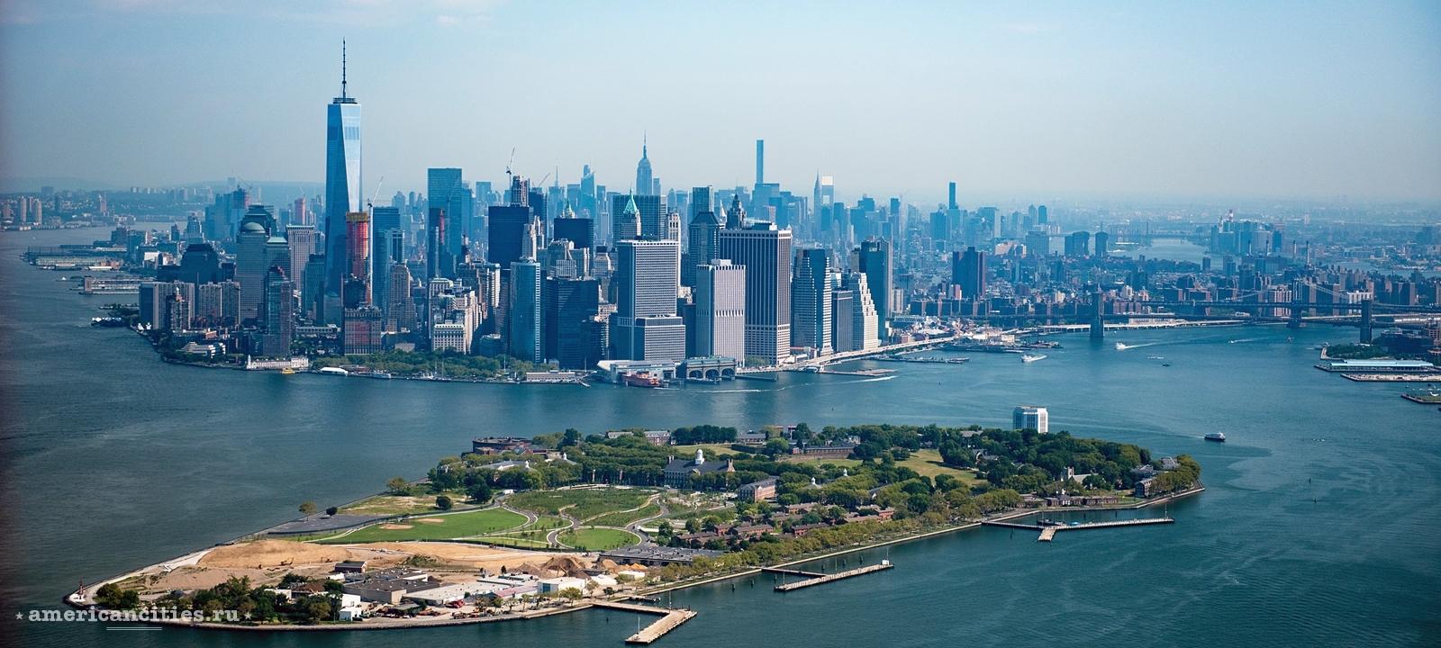 Фото Манхэттена с высоты