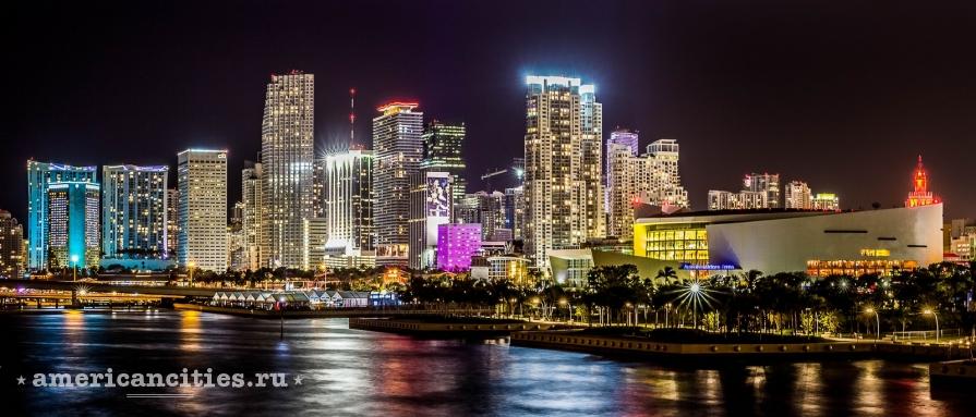 Майами ночью